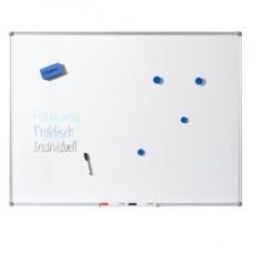 Lavagna bianca Basic - magnetica - 90 x 120 cm - Dahle
