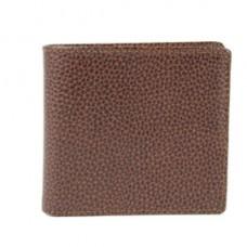 Portafogli uomo - 11 x 9,5 cm - vera pelle - marrone - Laurige France