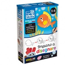 Life Skills cards ''Imparo a disegnare'' - KidsLove