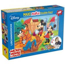 Puzzle Maxi ''Mickey My Friends'' - 108 pezzi - Lisciani