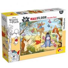 Puzzle Maxi ''Disney Winnie the Pooh'' - 24 pezzi - Lisciani