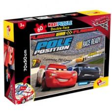 Puzzle Maxi ''Disney Cars 3 Challenge'' - 60 pezzi - Lisciani