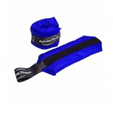 Coppia polsiere / cavigliere - in pelle sintetica - 1 kg