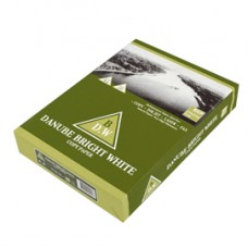Carta da fotocopie Bright White - A4 - 75 gr - risma da 500 fogli - Danube - ordine drop max 25 risme