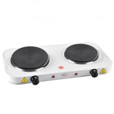 Fornello elettrico Cook2 - due piastre 18,5 / 15,5 cm - 1000 / 1500 W - Melchioni