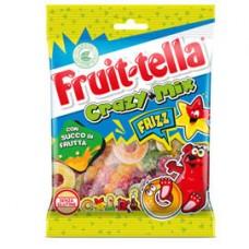 Caramella gommosa Frizz - crazy mix - 175 gr - Fruit-Tella