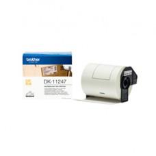 Brother - Etichette adesive in Carta - Nero/Bianco- 103.6 mm x 164.3 mm - QL1100/1110NWB - DK11247