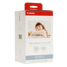 Canon - Carta fotografica - 100 x 148mm, 108 Fogli con inchiostro, kp108ip