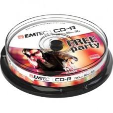 Emtec - CD-R - ECOC801052CB - 80min/700mb