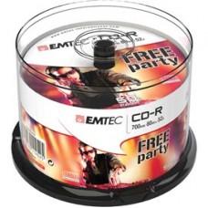 Emtec - CD-R - ECOC805052CB - 80min/700mb