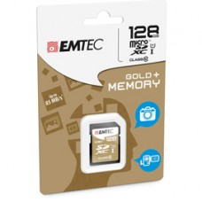 Emtec - SDXC Class 10 Gold + - ECMSD128GXC10GP - 128GB