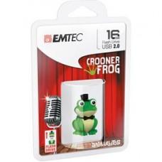 Emtec - Memoria USB 2.0 M339 Crooner Frog - ECMMD16GM339 - 16GB