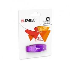 Emtec - Memoria Usb 2.0 - viola - ECMMD8GC410 - 8GB