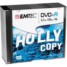 Emtec - DVD+R - registrabile - ECOVPR471016SL - 4,7GB - conf. 10 pz