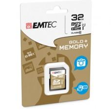 Emtec - SDHC Class 10 Gold + - ECMSD32GHC10GP - 32GB
