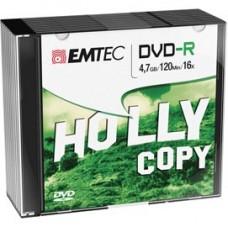 Emtec - DVD-R - registrabile - ECOVR471016SL - 4,7GB - conf. 10 pz