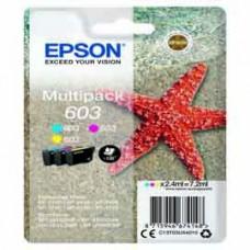 Epson -  Cartuccia ink - 603 - C/M/Y - C13T03U54010 - 130 pag cad.