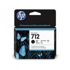 Hp - Cartuccia Ink - 712 - Nero - 3ED71A - 80 ml