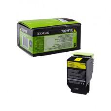 Lexmark - Toner - Giallo - 70C2HYE - 3.000 pag