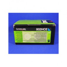 Lexmark - Toner - Ciano - 80C2HCE - 3.000 pag