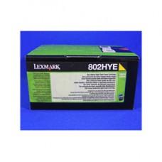 Lexmark - Toner - Giallo - 80C2HYE - 3.000 pag