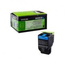 Lexmark - Toner - Ciano - 80C2SCE - 2.000 pag