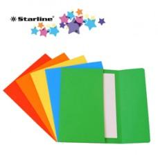Cartelline a busta - 200 gr - 26x34 cm - mix 5 colori - Starline - conf. 25 pezzi