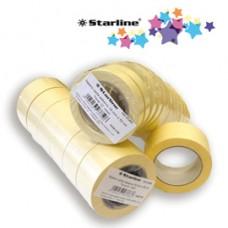 Nastro adesivo in carta - 19 mm x 50 m - beige - Starline