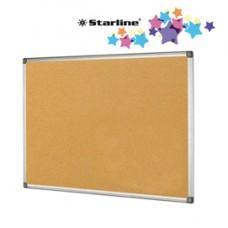 Lavagna sughero - 60x90 cm - cornice in alluminio - Starline