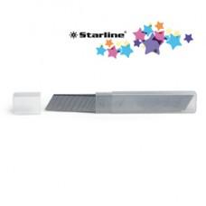 Lame di ricambio - 18 mm - universali - per cutter - Starline - blister 10 pezzi