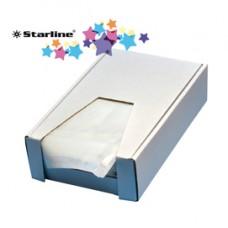 Buste adesive portadocumenti C5 - 228 x 165 mm - Eco Starline - conf. 250 pezzi