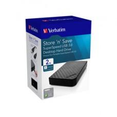 Verbatim - HDD esterno 3.5 USB 3.0 - 47683 - 2TB