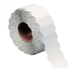 Etichetta a onda - permanente - 26x12 mm - bianco - Markin - rotolo da 1500 etichette