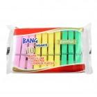 Mollette per la biancheria - colori assortiti - conf. 10 pezzi